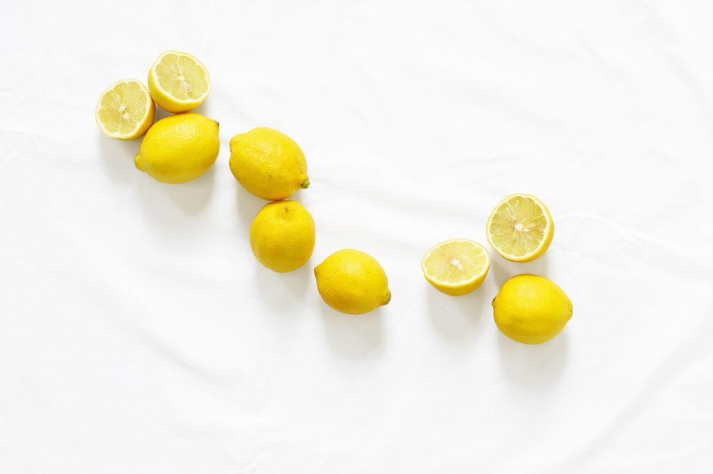 vitamin c citrony na pleť